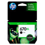 Cartuchos Hp 670xl Negro Originales P/ 3525 / 4615 / 4625