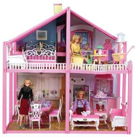Casa De Muñecas Grande Gloria Tipo Barbie Imperdible!!! - $ 799,99 ...