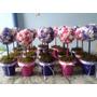 Centros De Mesa, Souvenirs De Flores En Porcelana Fria