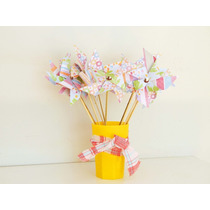 Molinitos De Viento De Papel Pin Wheels