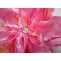 Hermosas Flores De Tela Para Tu Vestido O Cabello.