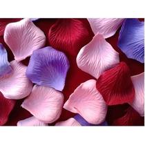 Pétalos De Rosas Tela Flores Eventos Decoración Souvenir