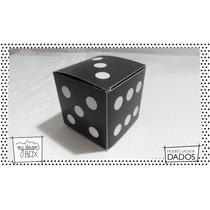 Souvenirs Personalizados Eventos Cajas Dados Casino Negros