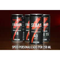 Speed Personalizados Souvenirs Lata