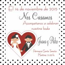 Participaciones, Invitaciones, Tarjetas De Casamiento