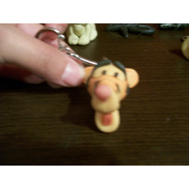Llaveros Duende, Winnie Pooh, Tiger, Piglet, Igor
