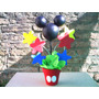 Centro De Mesa Minnie, Mickey , Personajes Disney