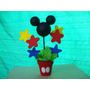 Centro De Mesa Mickey Minnie, Personajes Disney