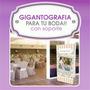Gigantografia Banner Mural Casamientos Boda Quince 90x1.90mt