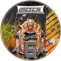 Kit Imprimible John Cena Lucha Candy Bar Etiquetas Golosinas