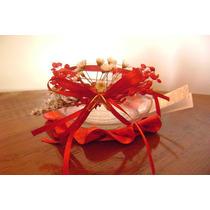 Souvenirs De Casamiento, Fanal De Vidrio Con Sales Aromatica