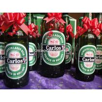 Cerveza Personalizada Heineken Cumpleaño Casamiento Botellas