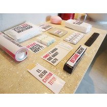 Kit Toilette Imprimible Para Casamiento Evento Baño Sticker
