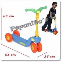 Monopatin Plastico 4 Ruedas Super Resistente - Vegui