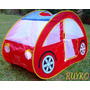 Casita Auto Plegable Infantil Pelotero Carpa Microcentro