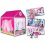 Casita Carpa De Juegos Barbie 2 En 1 Faydi Mundo Manias