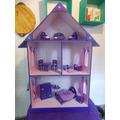 Casita De Muñecas Barbie Promocion $ 990