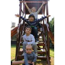 Juegos Infantiles Exterior/interior - Todo En Madera -