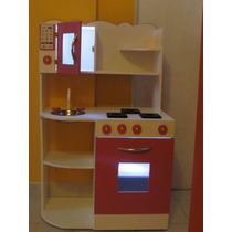Cocina Infantil De Juguete Mdf12mm Casitas Infantiles Rincon