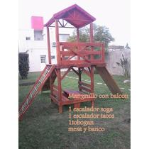 Casita Mangrullo Infantil Super Oferta Armado Sin Cargo!