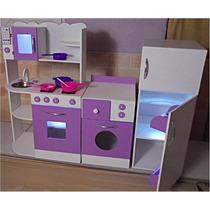 Casas para ni os en juegos de aire libre y agua - Cocinas infantiles madera ...