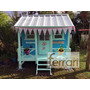 Casita Infantil M5 Maderas Ferrari Prom Techo Color Hot Sale