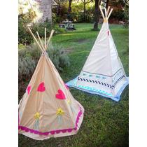 Carpa indios teepee tipi figarti casas para ni os tela - Casas de tela para ninos ...
