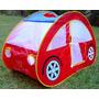 Casita Auto Plegable Infantil Juegos Pelotero + 50 Pelotas
