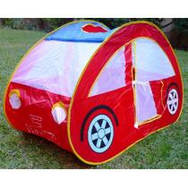 Casita Auto Plegable Infantil Juegos Pelotero Carpacasita Au