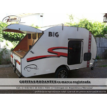 Casa Mini Rodante Gotita Rodante Big 5p Cocina Financiada