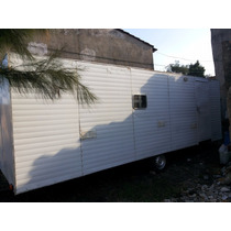 Casa Rodante Gran Cabaña Para Instalr Fija Permutas