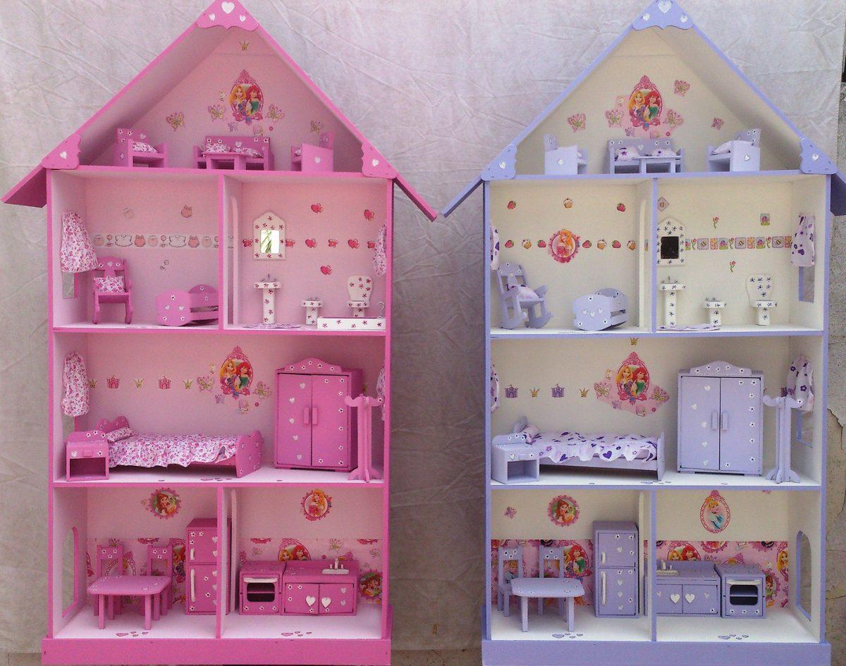 Casa de mu ecas barbie casitas fibrofacil lista para - Casa de munecas eurekakids ...
