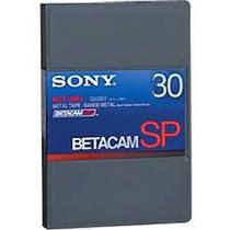 Cassette Betacam Sp 30 Sony Profesional Videcom