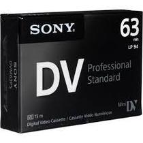 Casette Mini Dv Sony Professional 63m X 10 Unid. Videcom