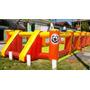 Cancha Inflable 10x5(piso De Lona Y Redes)+turbina+garantia