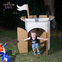 Castillo Gigante De Cartón - Casa Para Chicos - Juguete Eco
