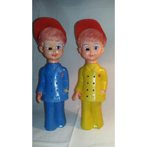 Muñecos Plástico Inflable (2) Nene Y Nena