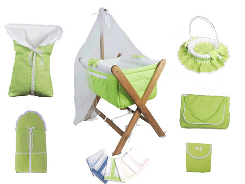 Catre Cuna Para Bebes + Bolso Con Cambiador + Portaenfant+