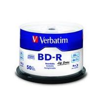 Blu Ray Virgen Verbatim X 50 Unidades 25 Gb 6 X Bd-r