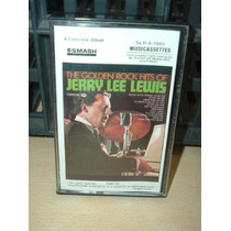 Jerry Lee Lewis The Golden Rock Hits Cassette Americano