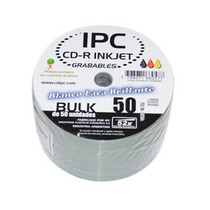 Cd Ipc Printable Blanco Brillante Fullprint X 100 Unidades.