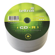 Cd-r Teltron Standard Ultragreen X1000 Unidades Fact.a