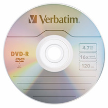 Dvd Virgen Verbatim 4.7 Gb En Sobre Local A La Calle