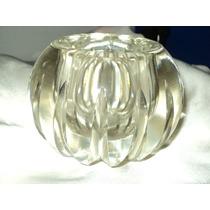 Hermoso!!!!!cenicero De Cristal ,impecable De 12x10cm
