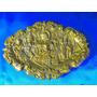 El Arcon Cenicero De Bronce Labrado Escena Galante 17054