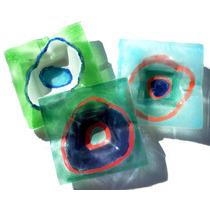 Ceniceros 12 X 12 Cm Vidrio Varios Modelos Vitrofusión