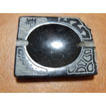 Cenicero De Granito Negro De Brasil Piedra Natural Mesadas