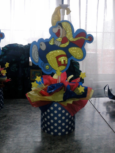 Centro De Mesa De Piñon Fijo
