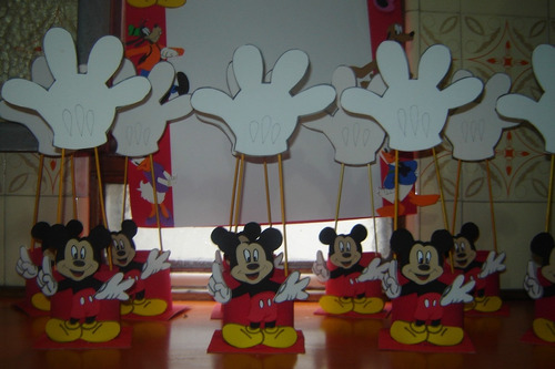 Centros de mesa Mickey originales - Imagui