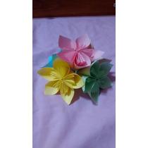 Flores De Origami - Toparios - Souvenir - Decoración